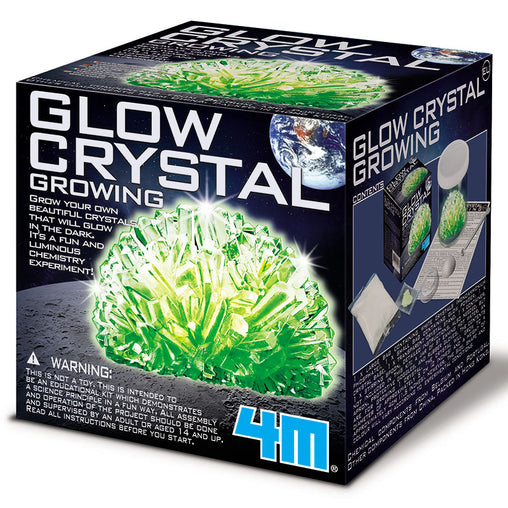 4M Glow Crystal Growing Kit Box