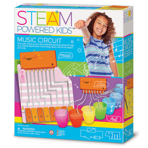 4M Steam Powered Kids Music Circuit Box