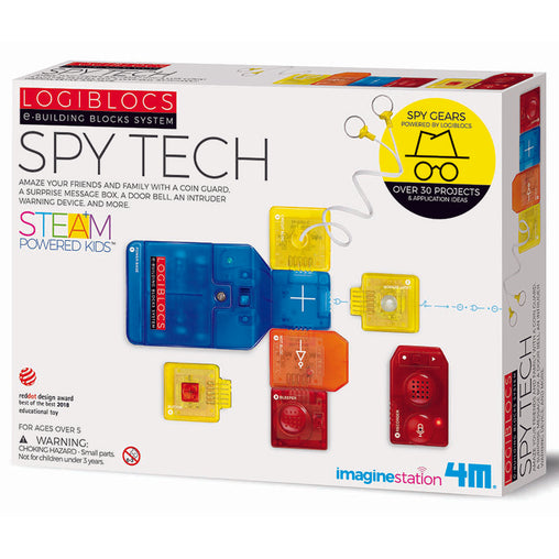 4M Logiblocs Spy Tech Box