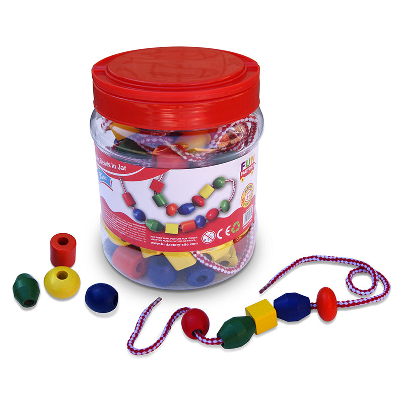 Fun Factory Lacing Beads in a Jar