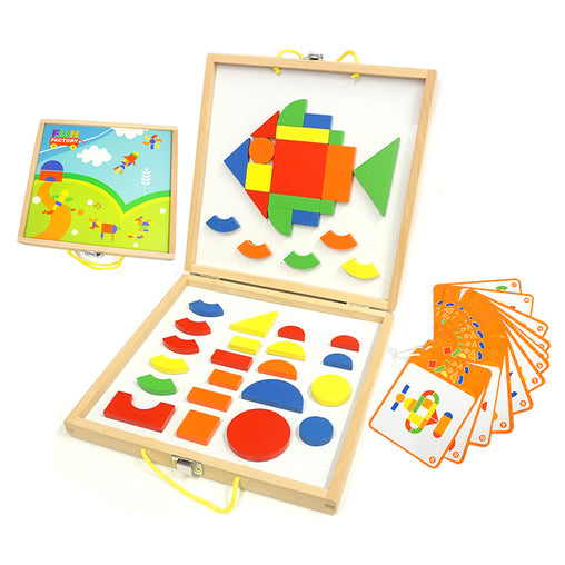 Fun Factory Magnetic Shapes Build a Picture