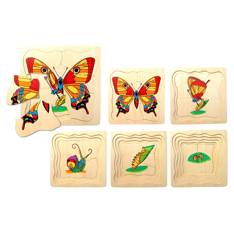 Fun Factory Layered Puzzle Butterfly