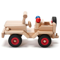 Fagus Wooden Jeep Side