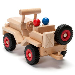 Fagus Wooden Jeep Back