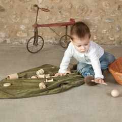 Grapat Natural Treasure Basket with 20 Elements Child