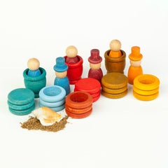 Grapat Nins Summer Peg People Play Set 2