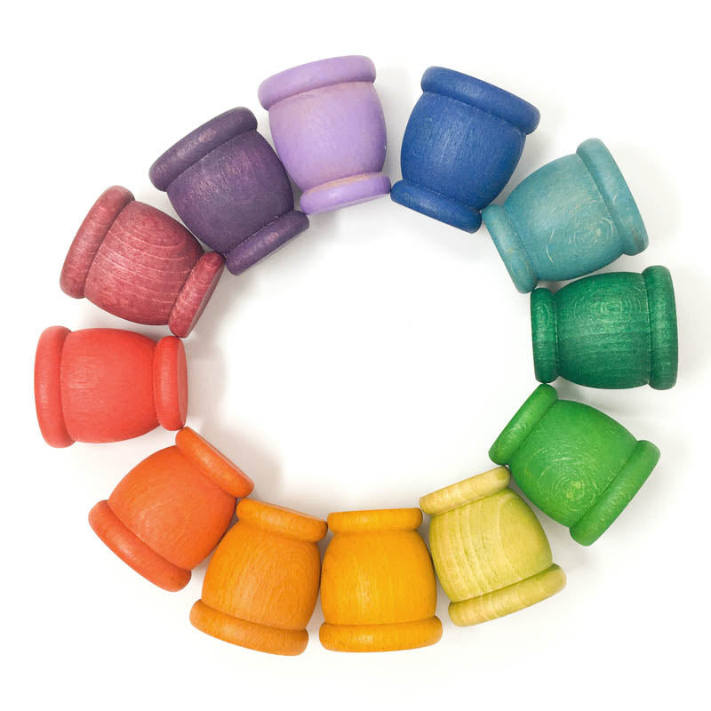 Grapat 12 Mates Cups Rainbow Set