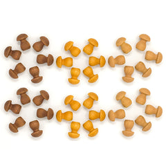 Grapat Mandala Mushrooms 36 pieces stars