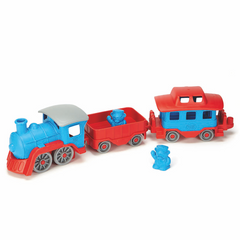 Green Toys Blue Train Recycled Plastic