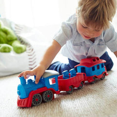 Green Toys Blue Train Recycled Plastic Boy