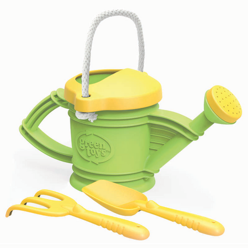 Green Toys Watering Can Shovel & Rake