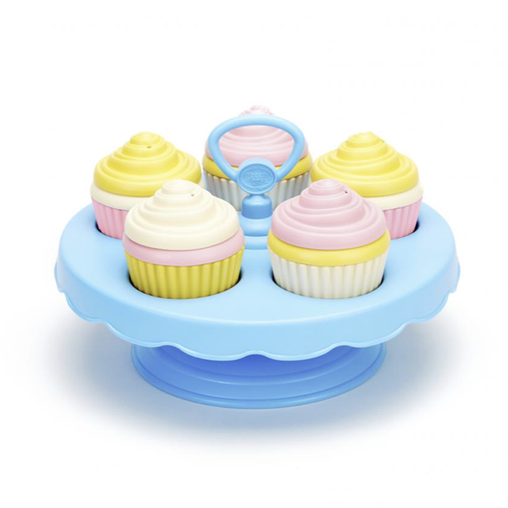 cupcake set GY049 green toys eco friendly ecotoys recycled PLASTIC