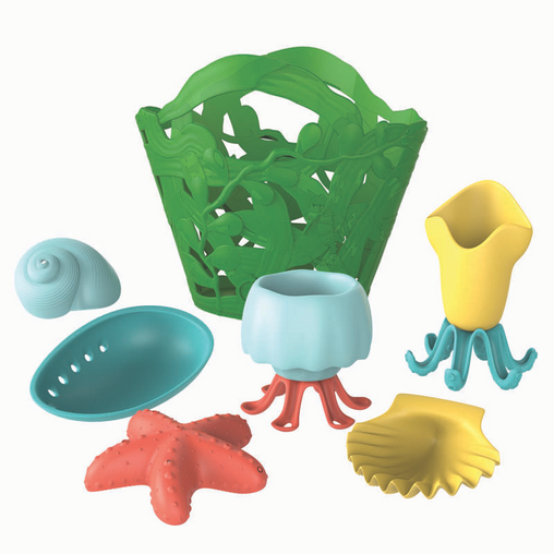Green Toys Tide Pool Bath Set Green