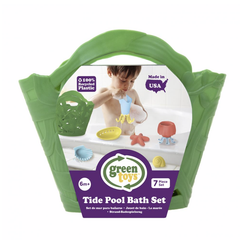 Green Toys Tide Pool Bath Set Green Packaging
