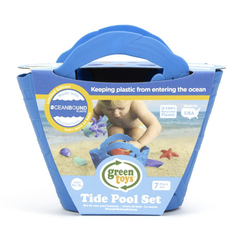Green Toys Tide Pool Set Blue Packaging