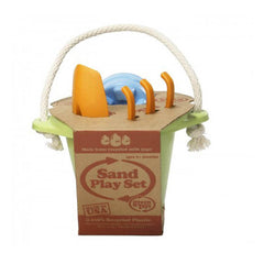 Green Toys Sand Play 4 Piece Set Green Packaging