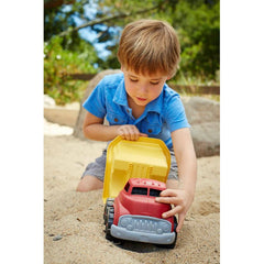 Green Toys Dump Truck Red Sand Boy