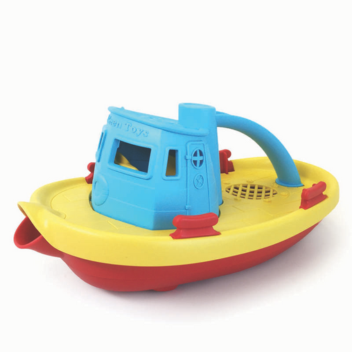 Tug Boat Green Toys eco friendly recycled plastic ecotoys GY014