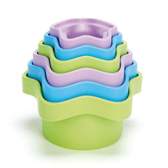 Green Toys Stacking Cups Set of 6