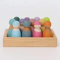 Grimm's Pastel Wooden Friends 12
