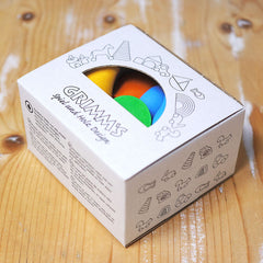 Grimm's Rainbow Wooden Mushrooms Box