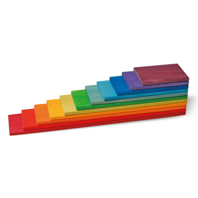 Grimm's Rainbow Wooden Building Boards