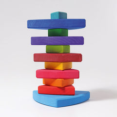 Grimm's Rainbow Stacking Tower 3