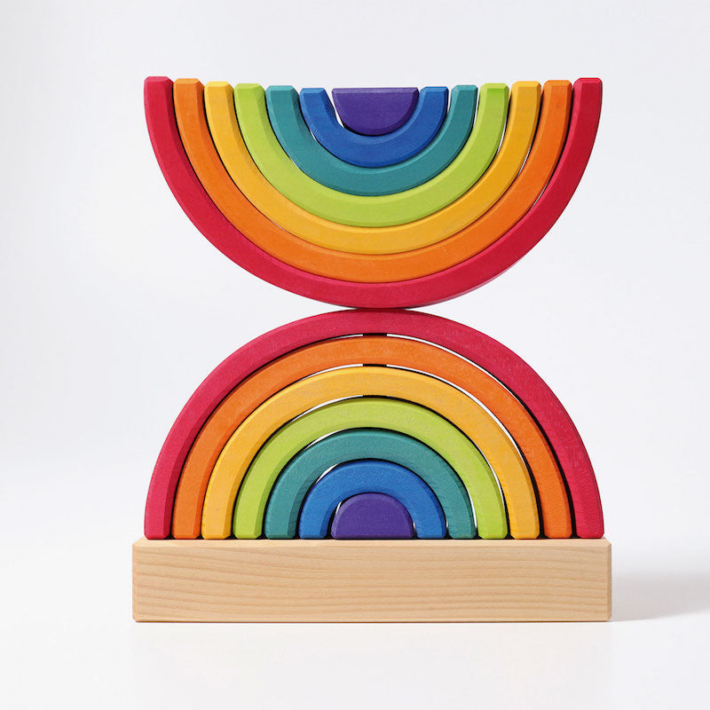 Grimm's Rainbow Elements Stacker Double