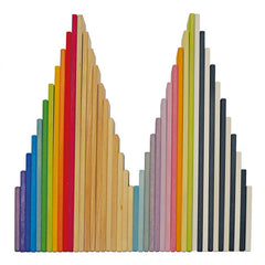 Grimm's Monochrome Building Boards Rainbow