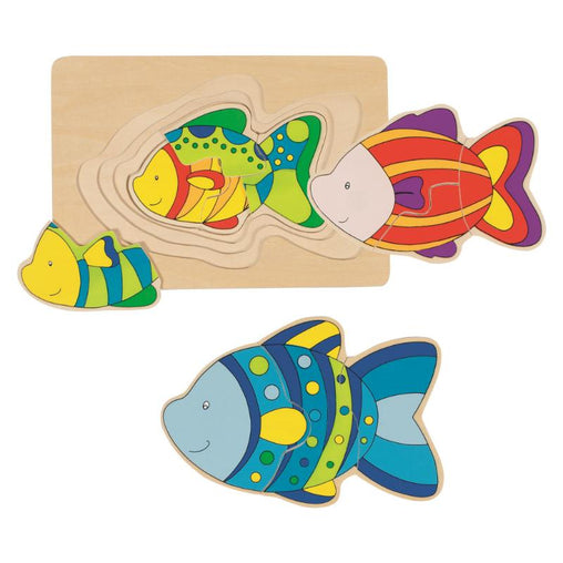 Goki Layer Fish Puzzle