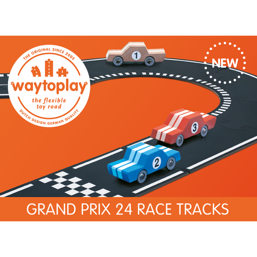 Waytoplay Grand Prix Set 24 Piece