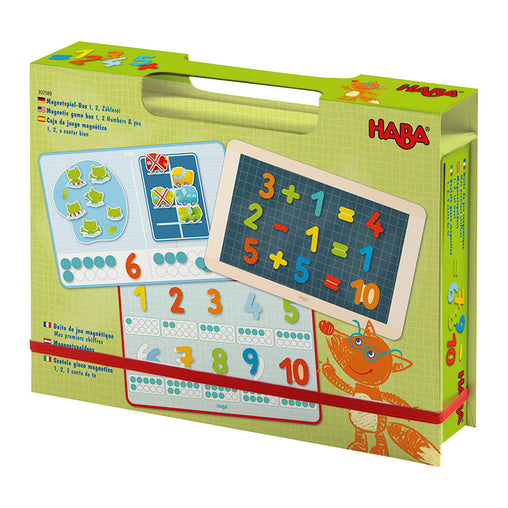 Haba Magnetic Game 1, 2 Numbers and You
