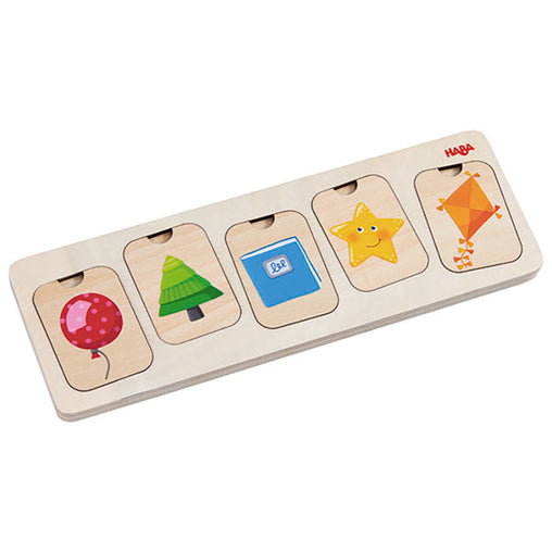 Haba Colours & Shapes 3 Layer Puzzle