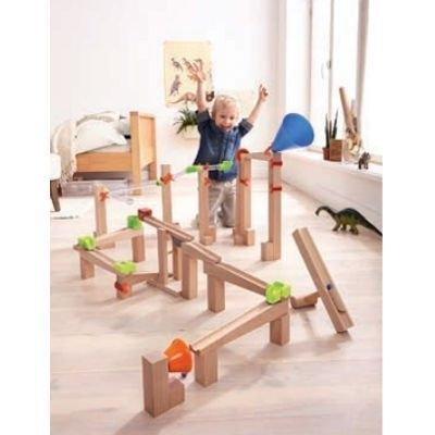 Haba Ball Track Marble Run Speed Explorer Large with Boy