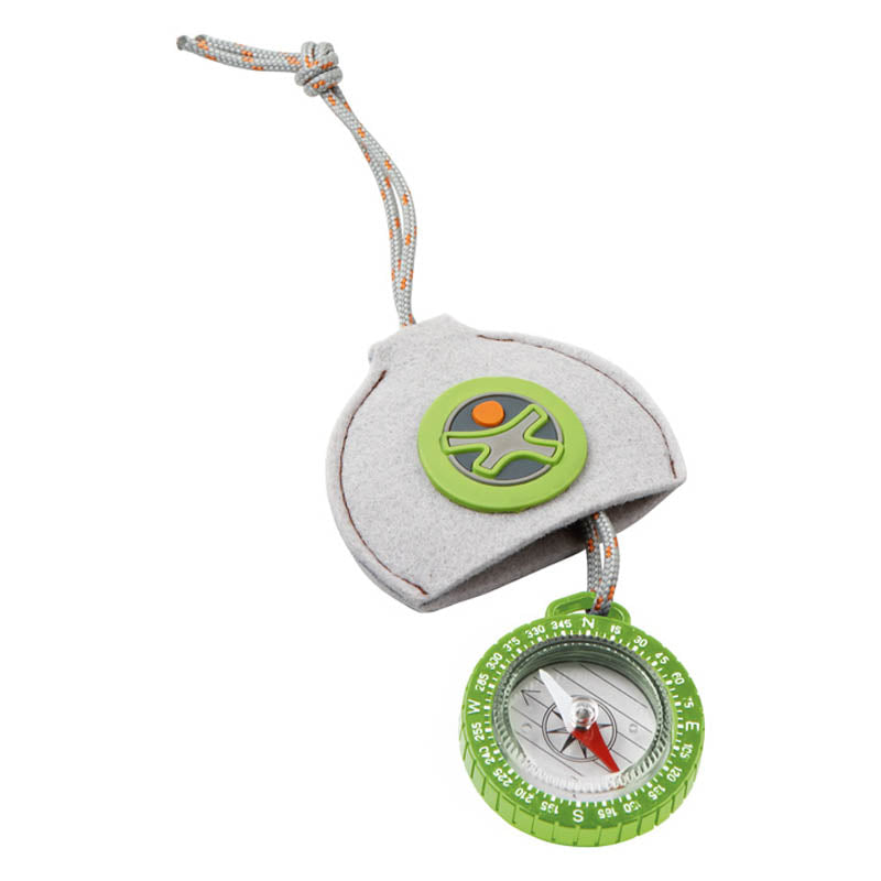 Haba Terra Kids Compass with Felt Pouch