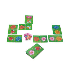 Haba Flower Fairy Domino Game Pieces