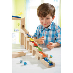 Haba Wooden Building Blocks Melodious with Boy