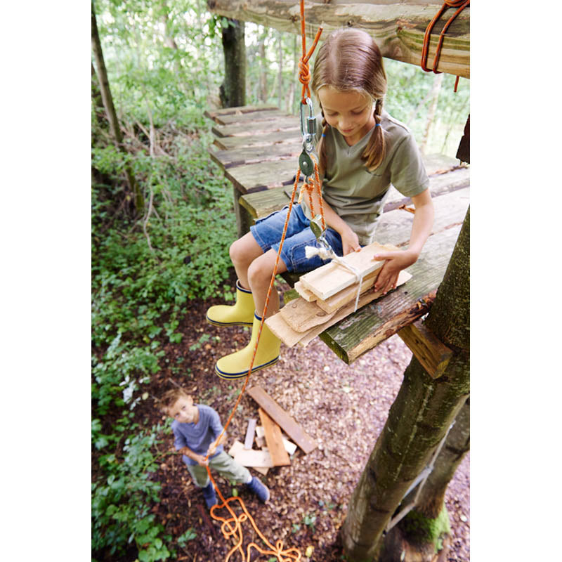 Haba Terra Kids Pulley System with Girl