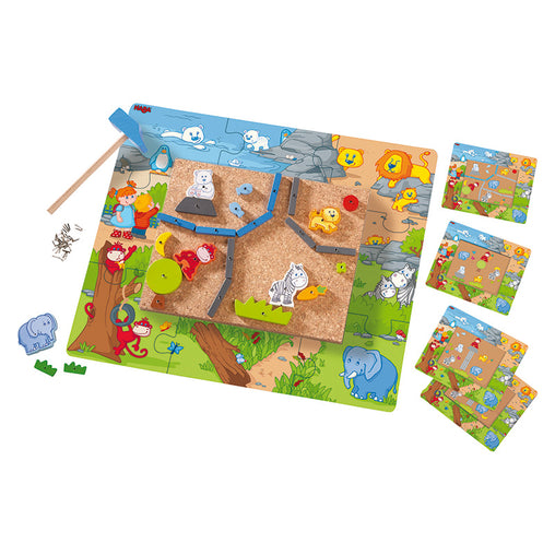 Haba Geo Shape Tack Zap In the Zoo