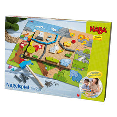 Haba Geo Shape Tack Zap In the Zoo Packaging