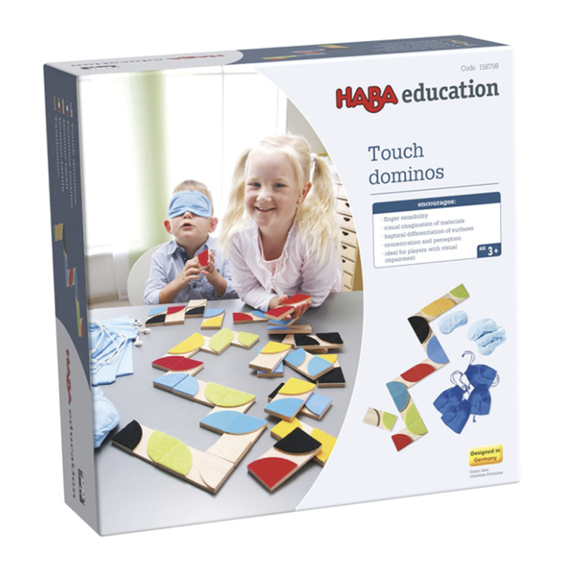 Haba Touch Dominoes Packaging