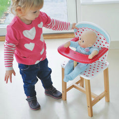 Indigo Jamm Hearts High Chair With Girl