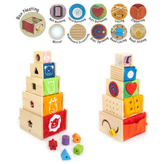 I'm Toy Activity Stacker Contents