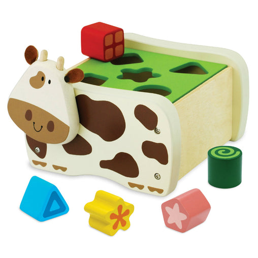 I'm Toy Cow Geo Shape Sorter