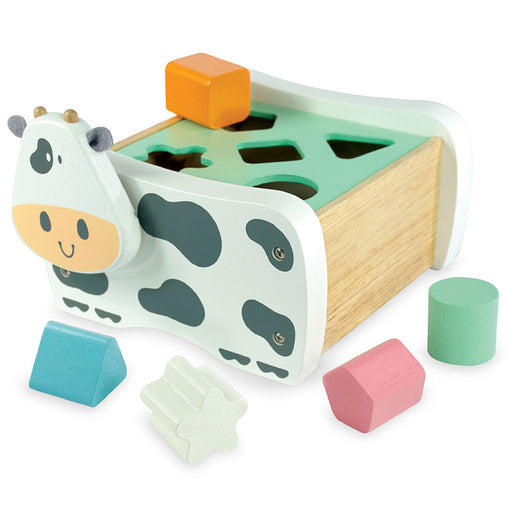 I'm Toy Cow Geo Shape Sorter Pastel