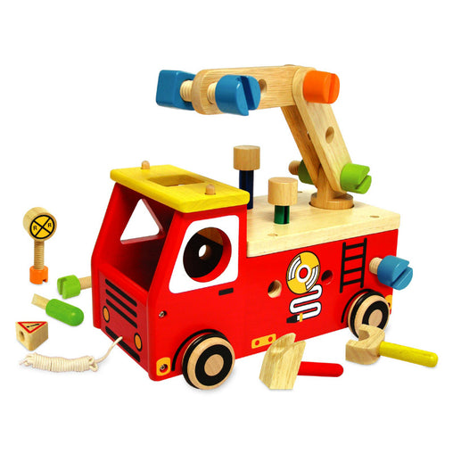 I'm Toy Fire Fighter Builder Pullalong