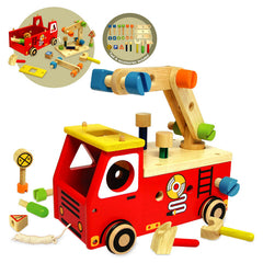 I'm Toy Fire Fighter Builder Pullalong Contents