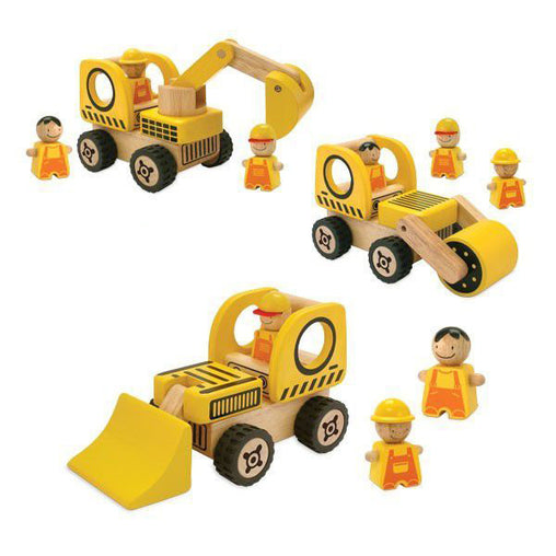 Road Vehicles Play Set IMT27130 I'm Toy Wooden Eco friendly