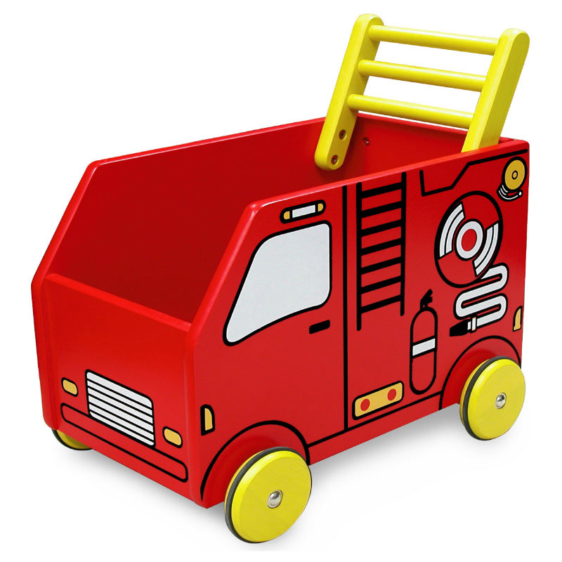 I'm Toy Fire Engine Walker Wagon
