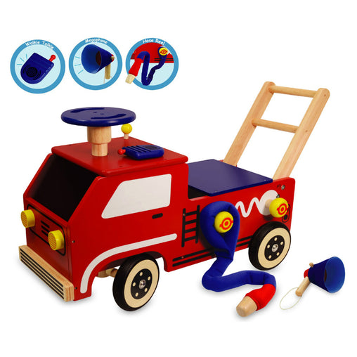 I'm Toy Fire Engine Walk & Ride